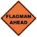 Where to rent SIGN, FLAGMAN AHEAD in Santa Barbara CA